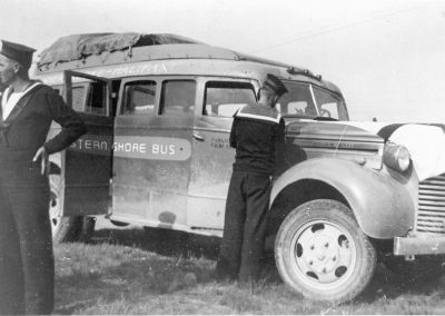 First Bus Operated by the Eastern Shore Bus Co-op, Halifax, Nova Scotia, Canada in 1939