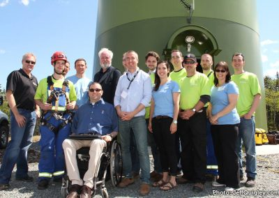 Congratulations to the the folks at Natural Forces and Enercon on the official grand opening of the Gaetz Brook Wind Turbine. Very cool stuff!  June 13 2015
